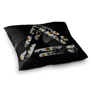 Alias Impossible Daisy Chain Square Floor Pillow Size: 26 x 26