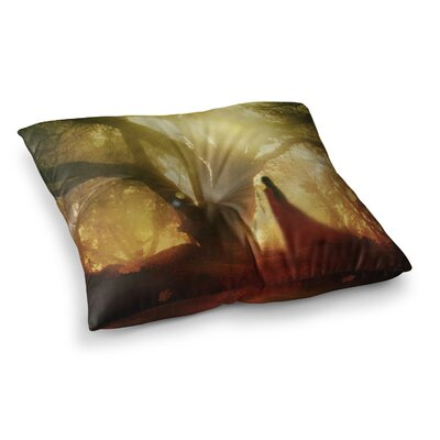 Viviana Gonzalez Autumn Song Tree Square Floor Pillow Size: 26 x 26