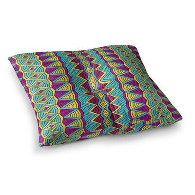 Pom Graphic Design Tribal Soul II Square Floor Pillow Size: 26 x 26