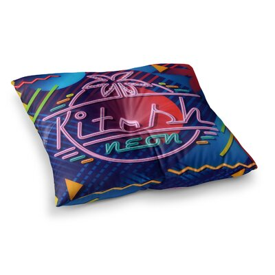 Roberlan Kitsch Square Floor Pillow Size: 23 x 23