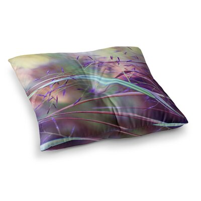 Sylvia Cook Pretty Grasses Square Floor Pillow Size: 26 x 26