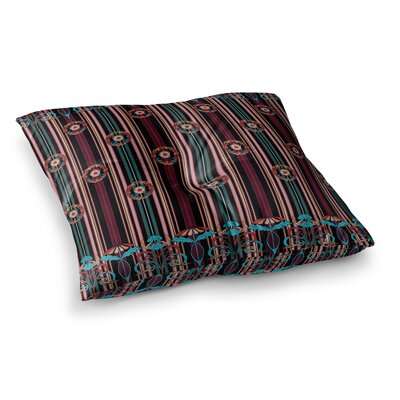 Victoria Krupp Nouveau Illustration Square Floor Pillow Size: 26 x 26
