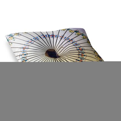 Sylvia Cook Parasol Square Floor Pillow Size: 23 x 23