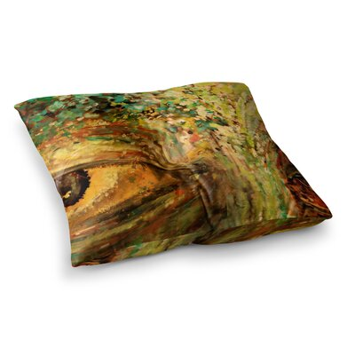 Nathan Gibbs Art Eye of The Storm Square Floor Pillow Size: 26 x 26