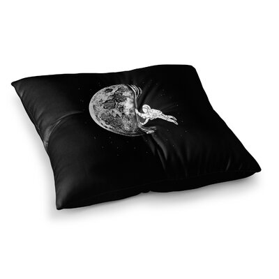 BarmalisiRTB The Night Has Come Square Floor Pillow Size: 26 x 26