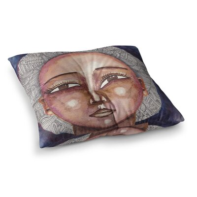 Stacey-Ann Cole Wise Words People Ethnic Square Floor Pillow Size: 23 x 23