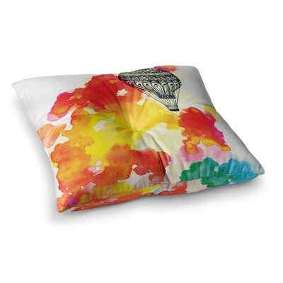 Sonal Nathwani Come Away with Me Square Floor Pillow Size: 26 x 26