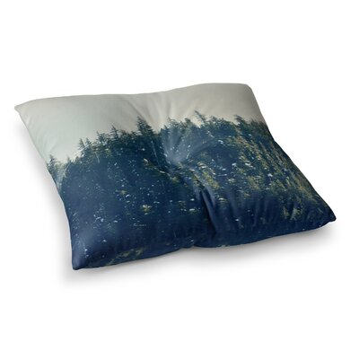 Robin Dickinson Take the Road Less Traveled Square Floor Pillow Size: 23 x 23
