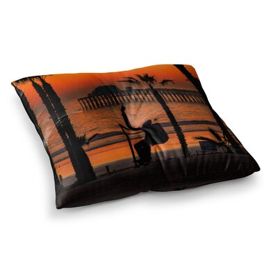 Juan Paolo Endless Summer Square Floor Pillow Size: 26 x 26