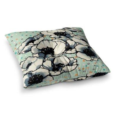 Sonal Nathwani Anenome Fizz Square Floor Pillow Size: 23 x 23