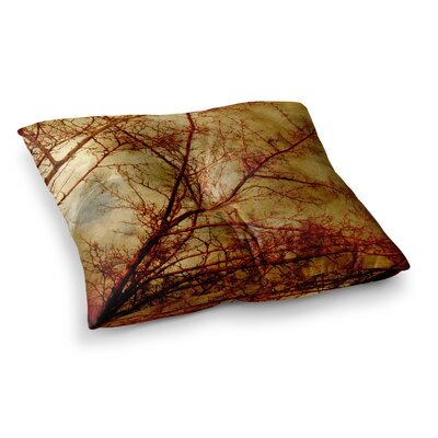 Sylvia Coomes Gothic Tree Nature Square Floor Pillow Size: 23 x 23