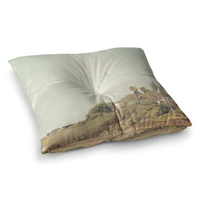 Sylvia Coomes West Coast 1 Coastal Photography Square Floor Pillow Size: 26 x 26