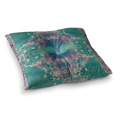Nina May Ashby Blossom Square Floor Pillow Size: 26 x 26
