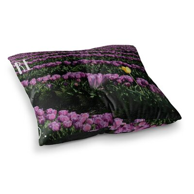 Robin Dickinson Youre One of a Kind Square Floor Pillow Size: 26 x 26