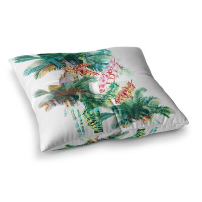 Victoria Krupp Return To Bali Digital Square Floor Pillow Size: 26 x 26