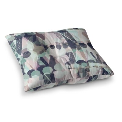 Victoria Krupp Chunky Geo Vector Square Floor Pillow Size: 23 x 23