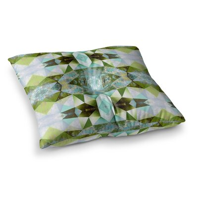 Pia Schneider Polygon Diamond III Vector Square Floor Pillow Size: 23 x 23