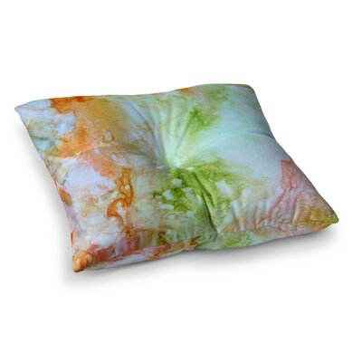 Rosie Brown November Rain Square Floor Pillow Size: 23 x 23