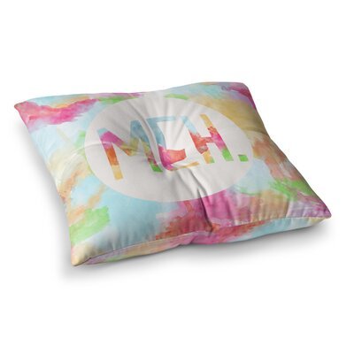 Skye Zambrana Meh Square Floor Pillow Size: 23 x 23