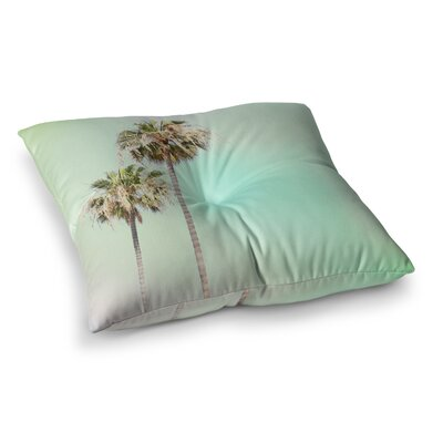 Sylvia Coomes Palm Trees Square Floor Pillow Size: 23 x 23