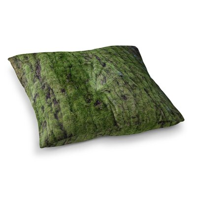 Susan Sanders Emerald Moss Nature Square Floor Pillow Size: 26