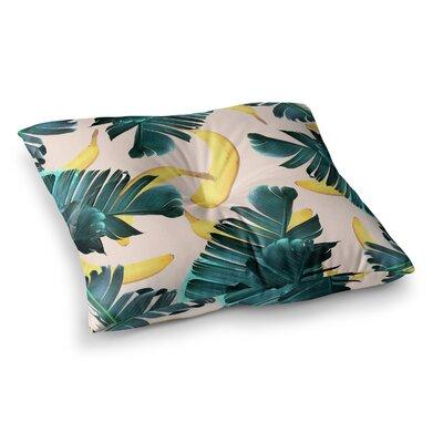 83 Oranges Island Dreams Illustration Square Floor Pillow Size: 26 x 26