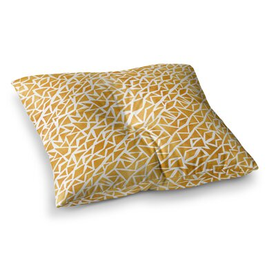 Pom Graphic Design Tribal Origin Square Floor Pillow Size: 23 x 23