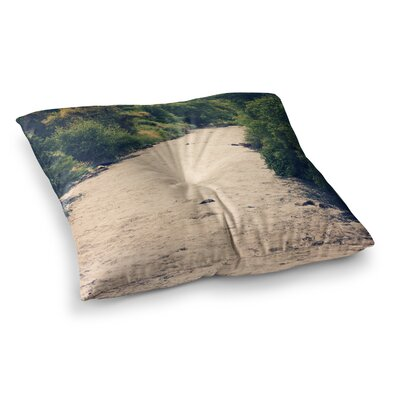 Sylvia Coomes Cold Stream Photography Square Floor Pillow Size: 26 x 26