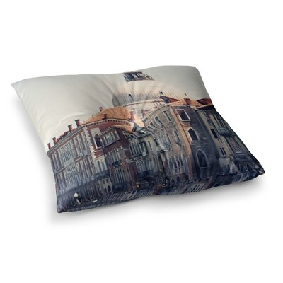 Sylvia Coomes Venice 5 Travel Vintage Square Floor Pillow Size: 26 x 26