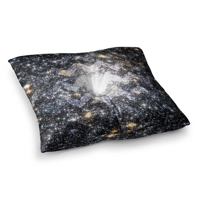 Suzanne Carter Messier Chevron Square Floor Pillow Size: 26 x 26