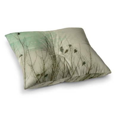 Sylvia Coomes Braving The Cold Photography Square Floor Pillow Size: 23 x 23