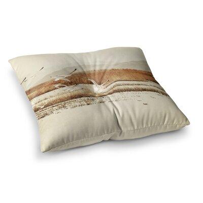 Sylvia Coomes Nautical Flight Square Floor Pillow Size: 23 x 23
