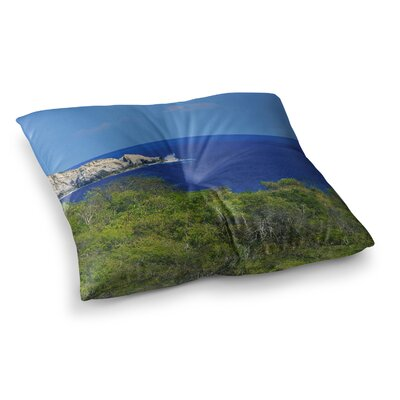 Nick Nareshni Forest to The Ocean Photography Square Floor Pillow Size: 23 x 23