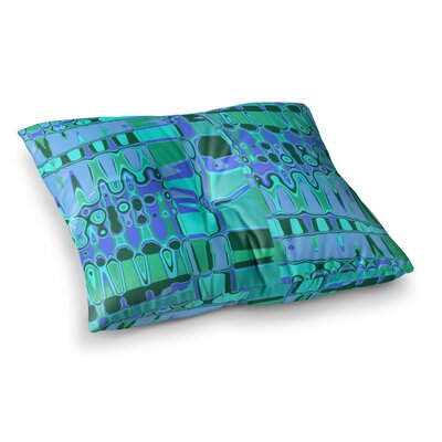 Vikki Salmela Changing Gears Square Floor Pillow Size: 26 x 26