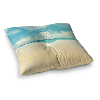 Sylvia Cook Beach Time Square Floor Pillow Size: 23 x 23