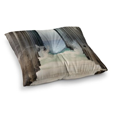 Sylvia Coomes Under The Pier Square Floor Pillow Size: 26 x 26