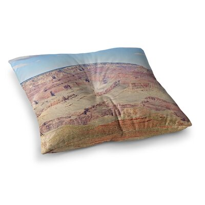 Sylvia Coomes Grand Canyon Panoramic Nature Travel Square Floor Pillow Size: 23 x 23