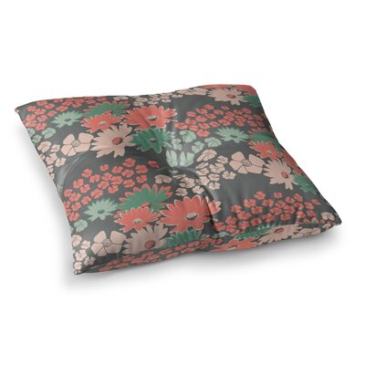 Zara Martina Mansen Bouquet Square Floor Pillow Size: 23 x 23