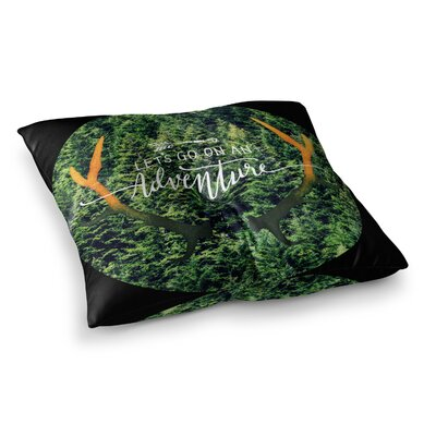 Robin Dickinson Adventure Photography Square Floor Pillow Size: 23 x 23