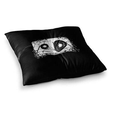 BarmalisiRTB Cassette Square Floor Pillow Size: 23 x 23