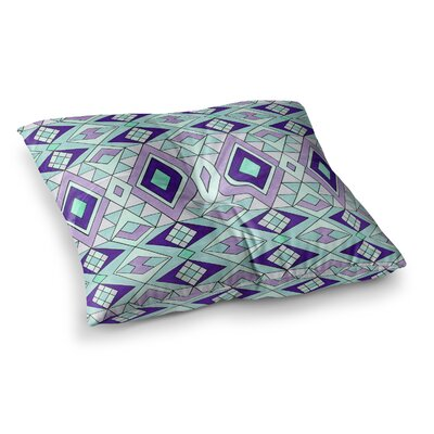 Pom Graphic Design Gems Square Floor Pillow Size: 23 x 23