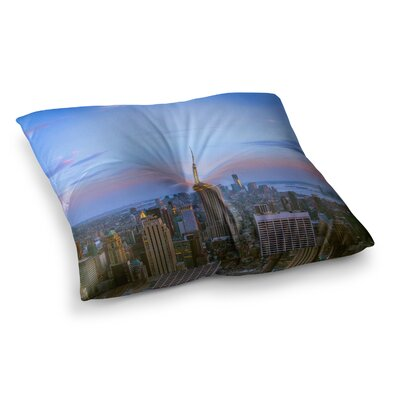 Juan Paolo Empire State of Mind Square Floor Pillow Size: 23 x 23