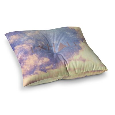 Rachel Burbee Exhale Square Floor Pillow Size: 26 x 26