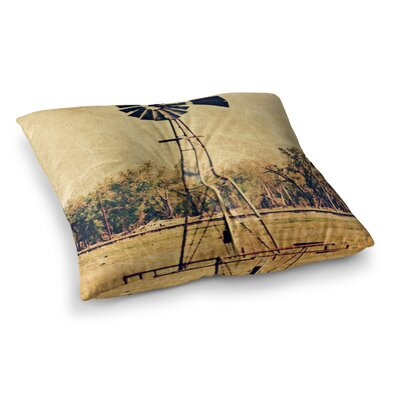 Sylvia Coomes We Are In Kansas Travel Square Floor Pillow Size: 26 x 26