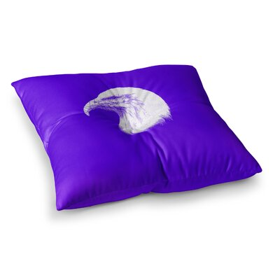 BarmalisiRTB Blind And Silent Square Floor Pillow Size: 23 x 23