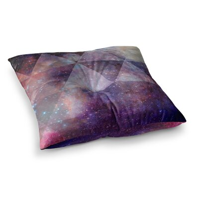 Suzanne Carter Geometric Stars Square Floor Pillow Size: 26 x 26