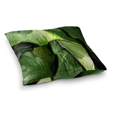 Rosie Brown Garden Shadows Square Floor Pillow Size: 26 x 26