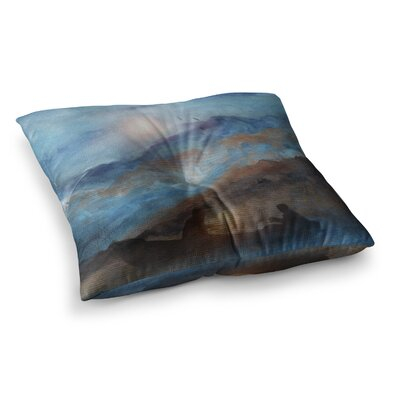 Viviana Gonzalez Calling the Sun VI Square Floor Pillow Size: 23 x 23