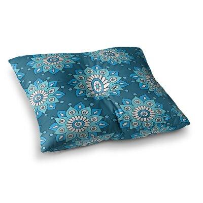 Sarah Oelerich Flower Burst Square Floor Pillow Size: 26 x 26