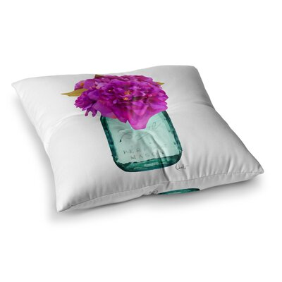 Oriana Cordero Perfect Mason V3 Square Floor Pillow Size: 26 x 26